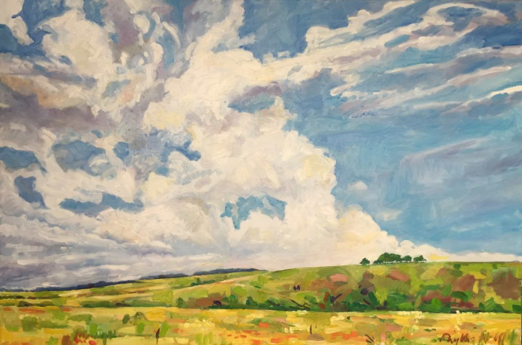 Big_Sky_over_Fontemll_Down_80_x_120_not_quite_finished
